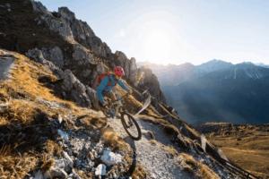 Mountainbiking in the Austrian Alps
